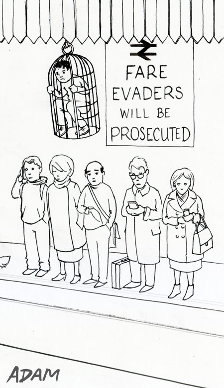 Fare evaders will be prosecuted