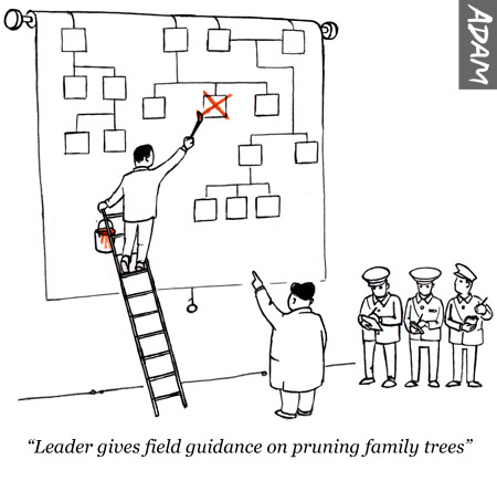 Leader gives field guidance on pruning family trees