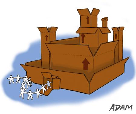 Stationery Castle