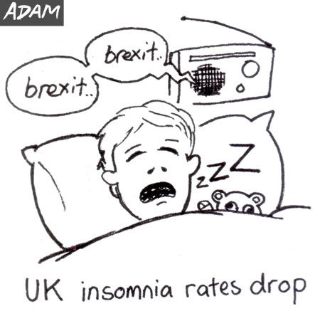 UK insomnia rates drop