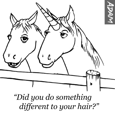 Did you do something different to your hair?