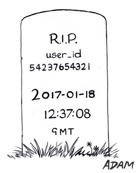 Dead stamp