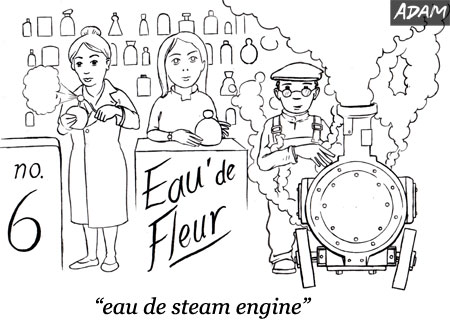 eau de steam engine