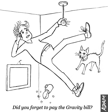 Did you forget to pay the Gravity bill