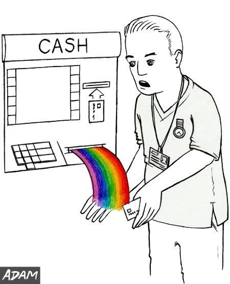 Paid with rainbows