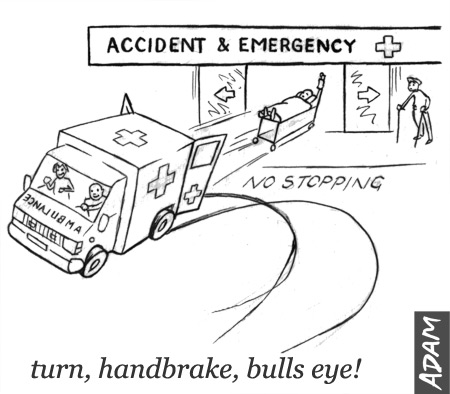 Speeding up ambulances