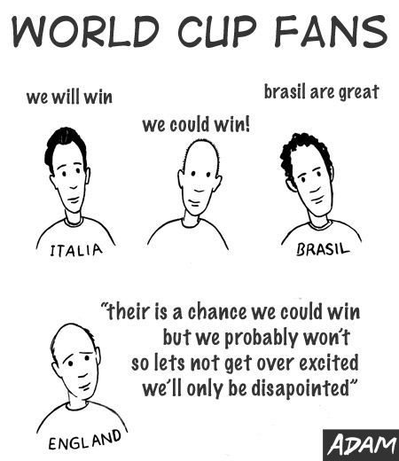 football fans world cup expectations by nationality