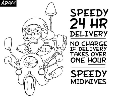 Speedy Midwives speed up that delivery