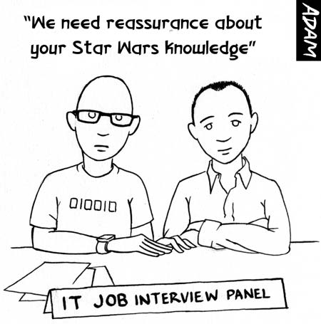 We need reassurance about your Star Wars knowledge
