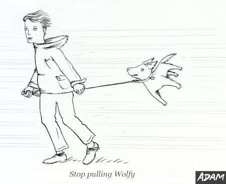 Stop pulling Wolfy