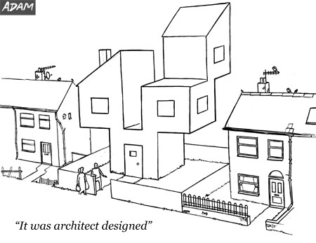 It was architect designed