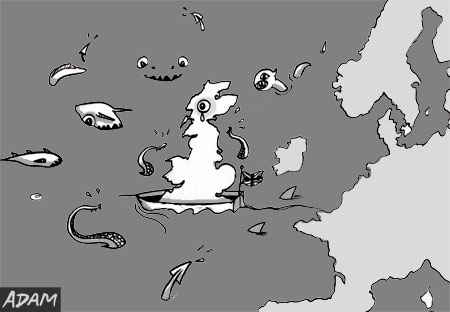 Stay in EU outside be dragons