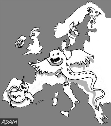 Leave EU there be dragons