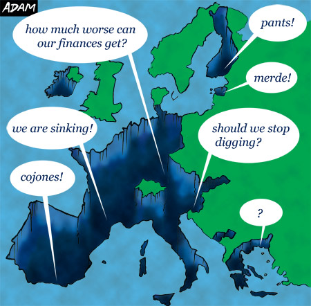 More news from the eurozone crisis