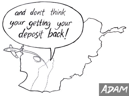 and don't think your getting your deposit back