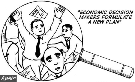 Economic Decision makers formulate a new Plan