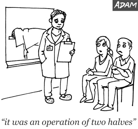 it was an operation of two halves