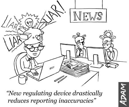 Press regulation doesn't seem that hard